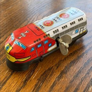 Other - Vintage Tin wind-up train - works! Nice colors